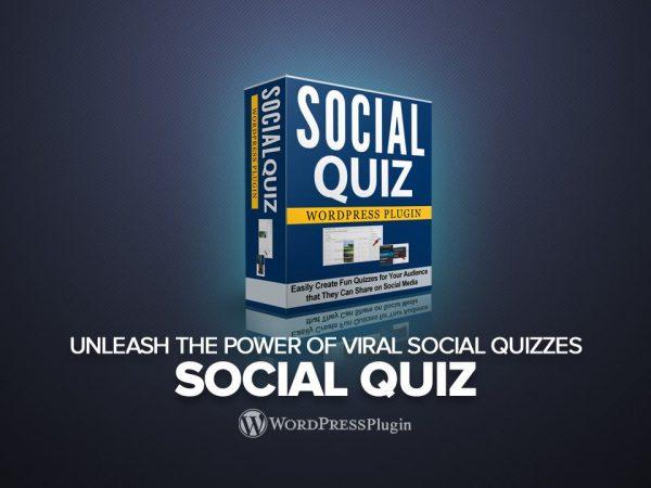 Social Quiz plugin ecover