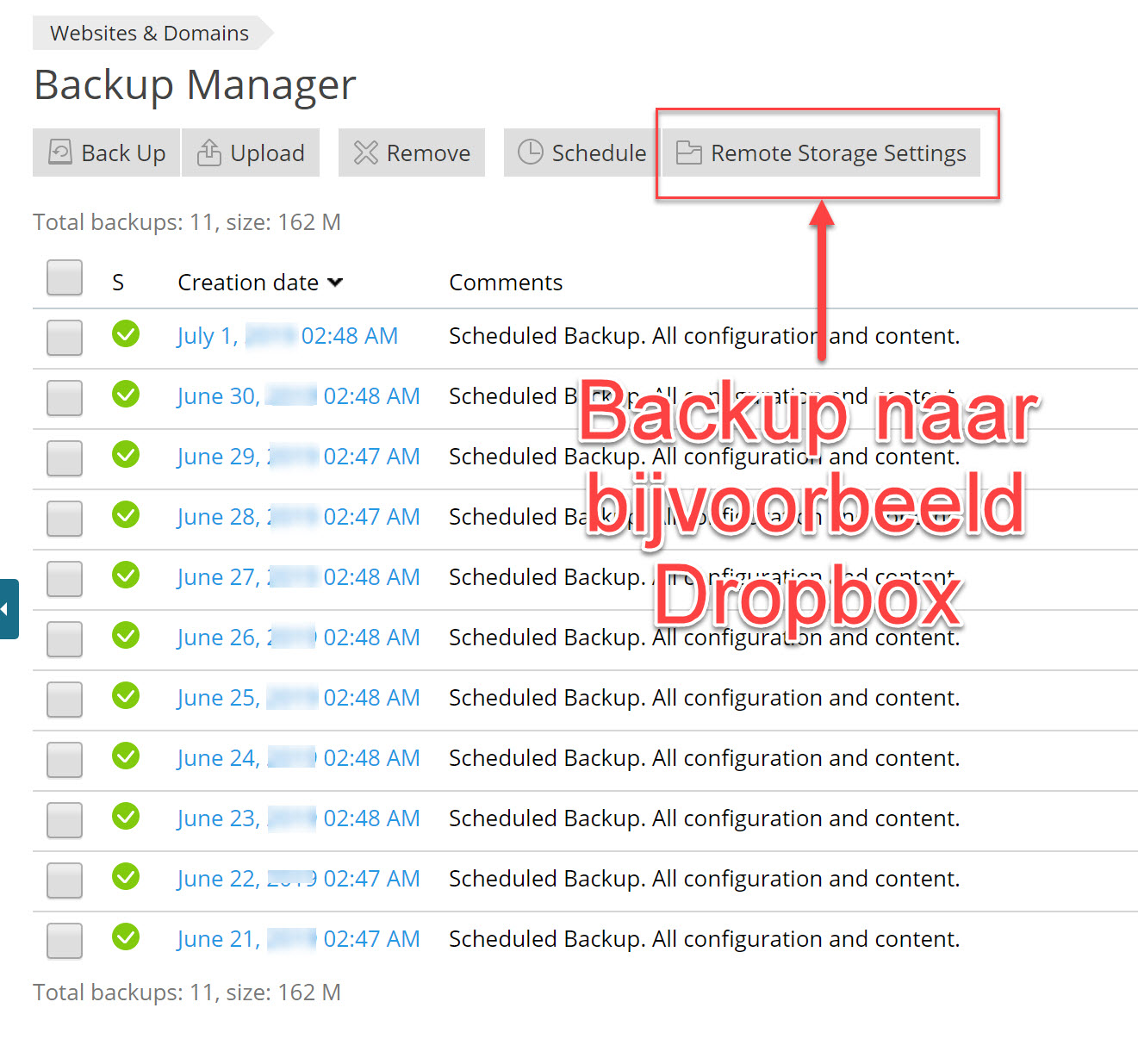 backup manager picture