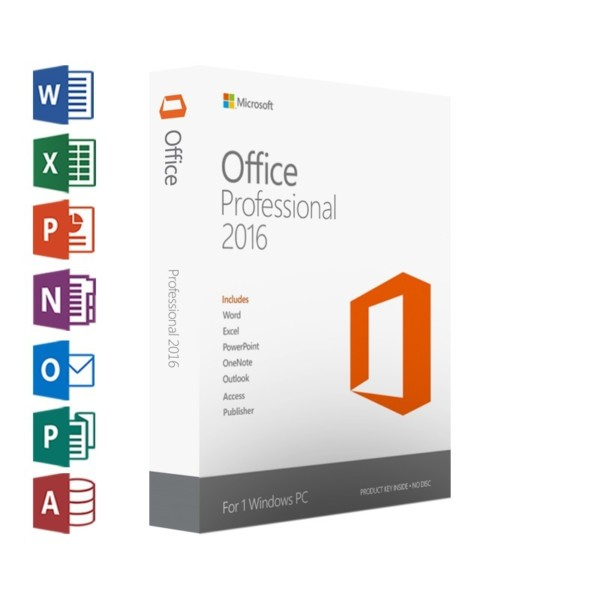 Office 2016 professional logo